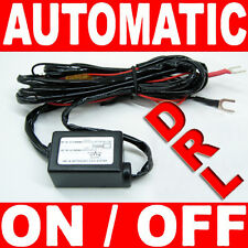 LED Daytime Running Light DRL Relay Harness Automatic Control On/Off Switch kit
