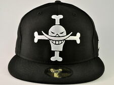 ONE PIECE NEW ERA SHIROHIGE SKULL BLACK/WHITE 59FIFTY FITTED CAP