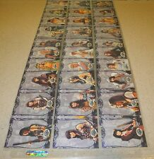 Xena Beauty and Brawn card core base set singles 37-72 Booster Pack Deck Box