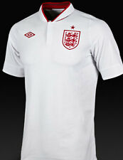 Retro Mens England Home Football Shirt 46 48 inch XL short sleeve