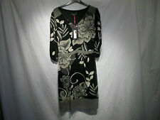 PER UNA LADIES DRESS BLACK /CREAM