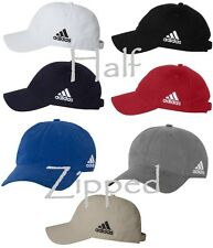 Adidas Golf Unstructured Cresting Cotton Cap A12 Golf Baseball Hat 6 Colors NEW