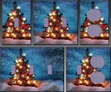 Beautiful Christmas Tree Wall Decor Light Switch Plate Cover