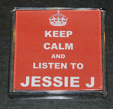 KEEP CALM & LISTEN TO JESSIE J - PRESENT - GIFT - THE VOICE JUDGE