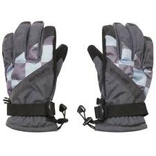 Quiksilver Men's Meteor Insulated Snow Gloves - AW14: Charcoal