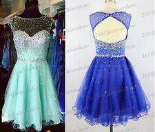 New Mini Beading Cocktail /Homecoming/Bridesmaid Dresses Short Prom Party Ball