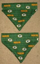 Green Bay Packers Dog Bandana - 5 sizes XS - XL