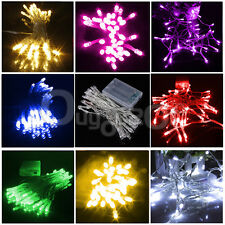 AA Battery Mini 10/20/30/40 LED Christmas Wedding Party String Fairy Light Lamp