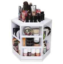 Spinning Makeup Organizer. 360. degree Rotating Display Stand Cosmetic Organizer