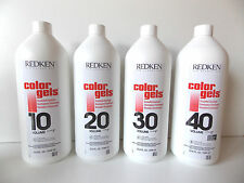 REDKEN Color Gels Developer 10 - 20 - 30 - 40 volume 33,8 fl oz 1L
