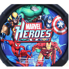 Marvel Avengers Spiderman/Iron Man/Captain America/Hulk Car Steering Wheel Cover