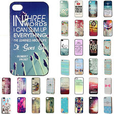 "For Apple iPhone 4S 5S 5C 6 4.7"" Plus 5.5"" Various Pattern Cute Hard Case Cover"