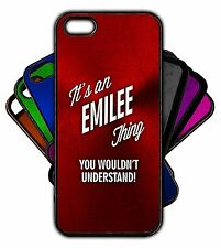 It's an EMILEE Thing You Wouldn't Understand! Phone Tablet Case Apple Samsung
