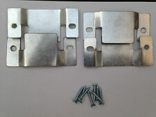 Connector clip brackets for many uses inc sofa's, beds and wardrobes.. Metal