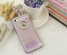 E058 Rabbit EarLuxury Bling Back Hard Case Cover for Iphone 6 & Iphone 6 plus AU