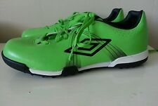 Umbro GT Cup TF Astro football trainers shoes BARGAIN lime green & black