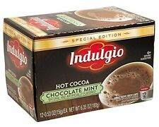 Indulgio Coffee Single  Keurig K-Cup 12 Count all Flavors $7.75