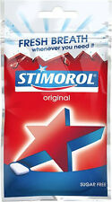 Stimorol Chewing Gum SUGAR FREE 28 g ( 1.00 oz ) Made in Denmark
