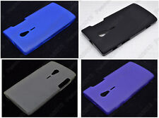 Multi Color Matting TPU Silicone CASE Cover For Sony Xperia acro S LT26w