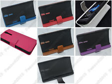 Multi Color Leather Cover Flip Case HOLDER WALLET For Sony Xperia S LT26i