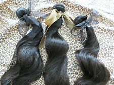 100% Virgin Brazilian Human Hair - 3 Bundle Deals - AAAAA Quality - All Lengths