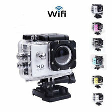 SJ4000 WiFi 12MP Full HD 1080P Helmet Sports Action Waterproof Car Camera VS