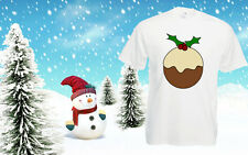 Christmas Cheap T Shirt Pudding shirt Top Tee Xmas Costume Festive Mens Outfit