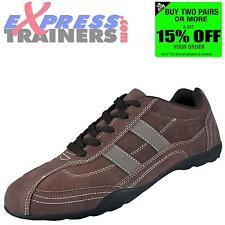 Mens Premier Livergy Casual Fashion Leisure Shoes Trainers Brown * AUTHENTIC *