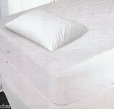 EGYPTIAN COTTON 200TC QUILTED MATTRESS & PILLOW PROTECTORS DOUBLE KING SUPERKING