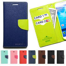 Slim leather wallet case credit id card holder clutch purse Pouch Flip cover lot