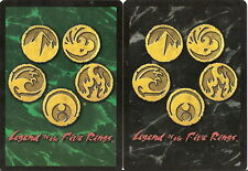 Various L5R Cards - Gold Edition 307 - 411 - Pick card Legend of Five Rings