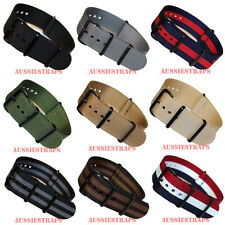 PREMIUM PVD NATO G10 Military Diver's Watch Strap Band NYLON plus 6x Spring Bars