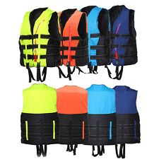 New Adult Swimming Polyester Foam Life Jacket Vest Whistle Foam Prevention Flood