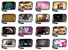 Digital Camera Case Pouch Carry Cover For Sony CyberShot BenQ Panasonic Lumix