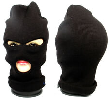 BALACLAVA FULL FACE MASK Black One hole Cotton COVER HEAD PROTECTION NINJA