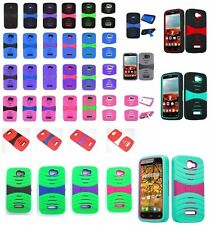 Alcatel One Touch POP ICON / A564C Rugged Phone Case + Free Screen Protector