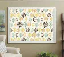 BLACKOUT PATTERNED ROLLER BLINDS, RETRO LEAFS, FREE SAMPLES AVAILABLE