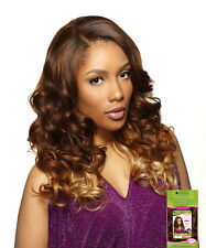 Sensationnel Empress Natural Synthetic U-Part Lace Front  Edge Wig Gwen