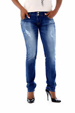 LTB Damen Jeans Used Blue Style: MOLLY