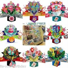 HAPPY BIRTHDAY POP UP CARDS ALL IN 3D *
