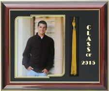 GRADUATION  FRAME 8x10 PICTURE WITH TASSEL