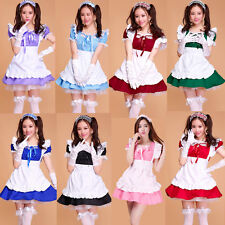 Japanese Beer role play Maid Outfit Sexy Dress Cosplay Party Set apron Costume