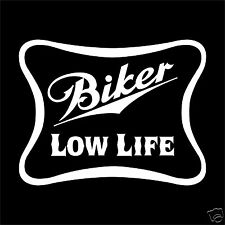 BIKER LOW LIFE - Biker Shirt - Black T Shirt