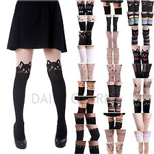 Womens Lady Sexy Fashion Sheer Pantyhose Design Pattern Printed Tattoo Stockings