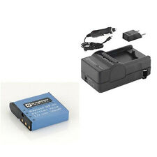 SDCANP40 Battery & Charger High Power Replacement kit for Casio CANP40 battery