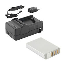 SDNP95 Battery & Charger High Capacity Replacement kit for FujiFilm NP95 battery