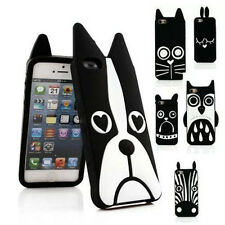 ANIMALS DESIGN SOFT SILICONE RUBBER CASE COVER FOR IPHONE 5/5s IPHONE 6/6 PLUS