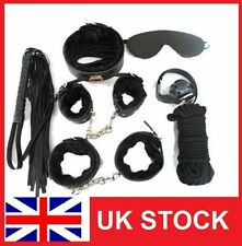 Sex Toy Bondage Set Adult Sex Kit Handcuffs Cuffs Ball Ropes Blindfold Whip Fun