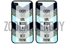 Chevron BFF best friends phone cases SHORT & TALL for Iphone and Galaxy
