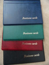 Business card holder  for own cards